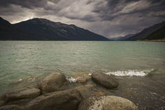 Moose Lake, Mount Robson Provincial Park, North Thompson, Britis Stock Photography