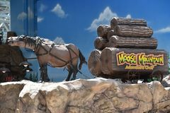 Moose Mountain Adventure Golf at Mall of America in Bloomington, Minnesota