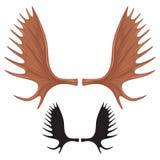 Moose sign Royalty Free Stock Image