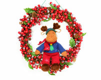 Moose wreath Stock Photos