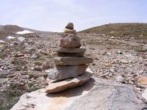 Moosige alte Felsen, moosige Felsmalerei der Nordseite Lizenzfreie Stockfotografie