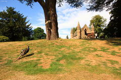 Moot or Boot Hill on the grounds of Scone Castle, Scotland Royalty Free Stock Photo