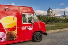 Moozoo food truck Stock Images