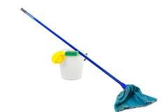 mop ведра Стоковые Фото