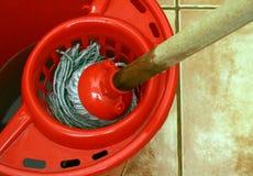 mop чистки ведра Стоковые Фотографии RF