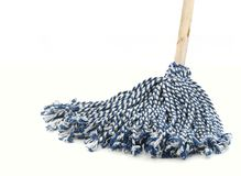 Mop. Close up of a mop royalty free stock photo