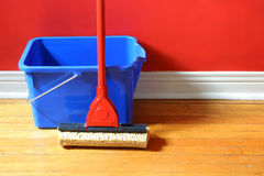 Free Mop And Bucket Royalty Free Stock Photo - 2229105