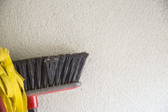 Mop and broom Stock Photography