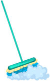 Mop brush Royalty Free Stock Image