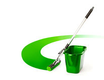 Mop and bucket Royalty Free Stock Photos
