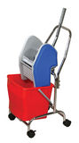 Mop Bucket Royalty Free Stock Photos