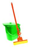 Mop and bucket Stock Photos