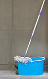 Mop And Bucket. Royalty Free Stock Photography