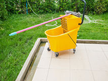 Mop bucket Royalty Free Stock Images