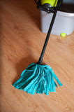 Mop with a bucket Stock Photography