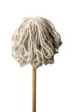 Mop Isolated On White Background Royalty Free Stock Photos