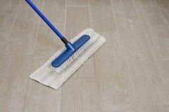Mop per pulizia Immagini Stock