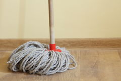 Mop in the room Stock Photos