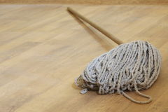 Mop in the room Stock Images