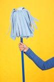 Mop Spring cleaning Immagini Stock Libere da Diritti