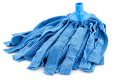 Mop on white Royalty Free Stock Photography