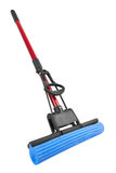 Mop on white Stock Images