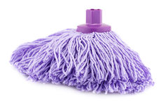 Mop on white Stock Photography