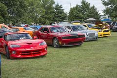 Mopar car show Stock Images