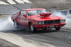 Mopar drag car Royalty Free Stock Photos