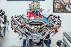 Mopar Hemi引擎 库存图片