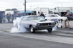 Challenger drag car Royalty Free Stock Photography