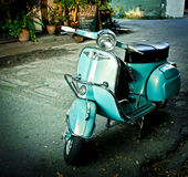 Moped Royalty Free Stock Photo