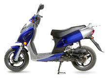 Moped Stockbild