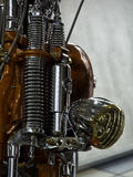 Moped Arkivbild