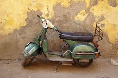 Moped cairo egypt Royalty Free Stock Photos