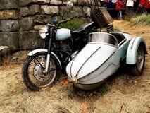 Moped och bakgrund hem- Hagrid för Hagrid ` s Arkivfoton