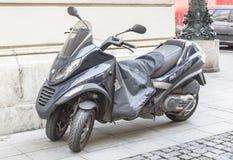 Moped Piaggio Mp3 400 I E Royaltyfri Bild