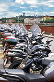 Mopeds in Florence Stock Photos