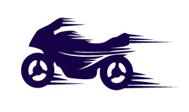 Mopedsymbol Royaltyfria Foton