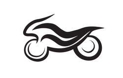 Mopedsymbol Arkivfoto