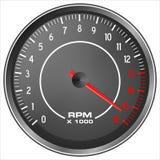 Mopedtakometer Arkivbilder