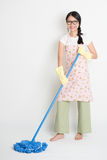Mopping пол Стоковая Фотография RF