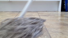 Mopping Floor 3 stock footage