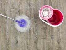 Mopping Up Stock Photography