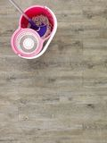 Mopping Up Royalty Free Stock Photo