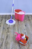 Mopping Up Royalty Free Stock Image