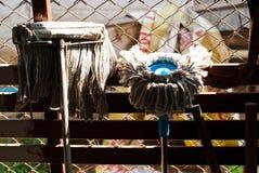 2 mops в тайском доме Стоковое Изображение RF