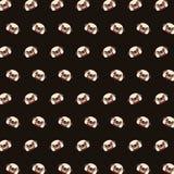 Mops - emoji wzór 08 ilustracji