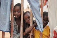 Mopti-Kinder Stockbild