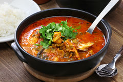 Moqueca, brazilian fish stew Royalty Free Stock Images